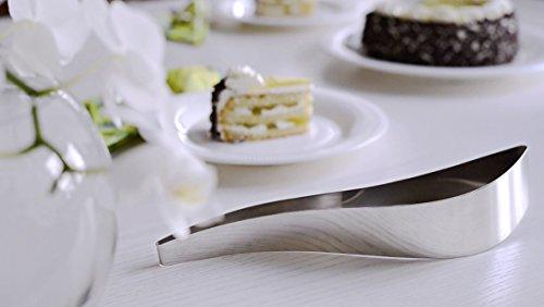 Producto: Cake server - Designer: Maria Kivijärvi - Material: Acero inoxidable - Características: De utilizar con tartas blandas (bizcocho y/o helado) - Lavable en lavaplatos - Dimensiones: L 25 L 7 H 5
