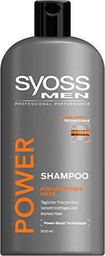 Syoss Shampoo MEN Power, 6er Pack (6 x 500 ml)
