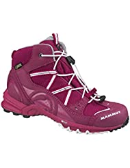 Mammut Nova Mid GTX® Kids (Backpacking/Hiking Footwear (Mid)), Farbe:dark magenta-white;Groesse-M:29
