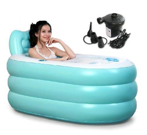 tinksky-aufblasbare-badewanne-erwachsenen-portable-faltbare-pvc-spawanne-mit-luftpumpe