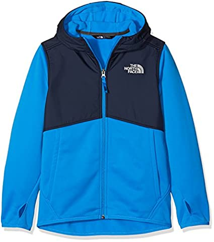 The North Face Kickin It Boy's Outdoor Hoodie available in Clear Lake Blue Size Medium