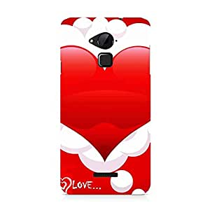 Hamee Designer Printed Hard Back Case Cover for Coolpad Note 3 Design 3532