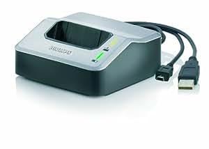 Philips LFH9120 Station d'accueil USB pour Philips LFH9375 ou LFH9380 avec piles rechargeables et alimentation secteur