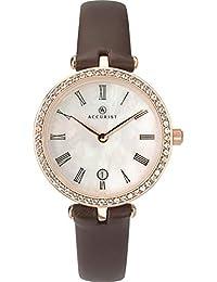 8227 - Reloj de Pulsera analógico para Mujer (Correa de Piel b05e7d3405fd