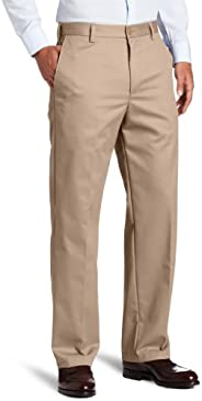 IZOD Men's American Chino Flat Front Straight Fit