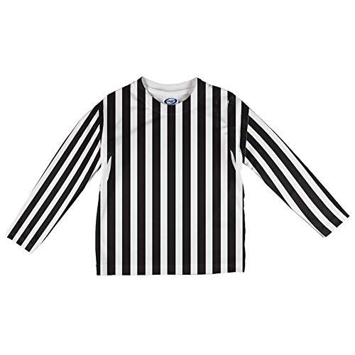 Halloween-Schiedsrichter-Kostüm Alle über Säuglings Lange Ärmel T Shirt Multi 18-24 ()