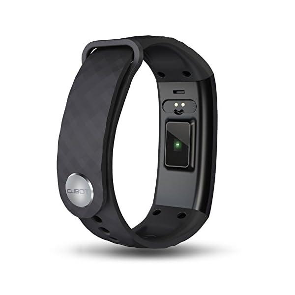 S1 CUBOT Smart tracker pulsera Bluetooth 4.0 impermeable pantalla táctil OLED podómetro rastreador inalámbrico actividad… 4