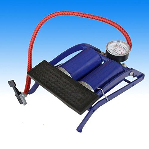 Fußluftpumpe Doppelzylinder Standluftpumpe Luftpumpe