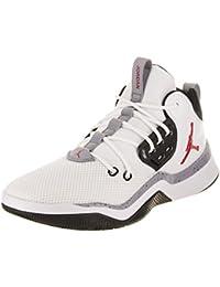 Nike Air Jordan 2 Retro BG, Zapatillas de Deporte para Niños, Negro/Rojo (Black/Varsity Red), 37 1/2 EU