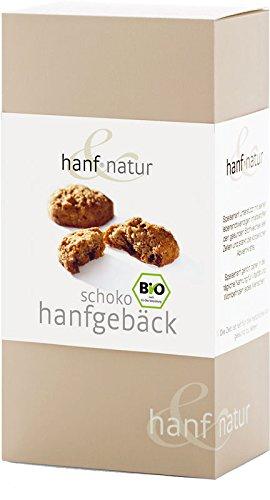 *Hanf Schoko Kekse 100g BIO Keks aus Weizen und Hanf mit zarten Schokotropfen*