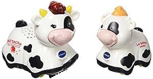 VTech - 207335 - Milletache Maman Vache Et Milo Bébé Veau