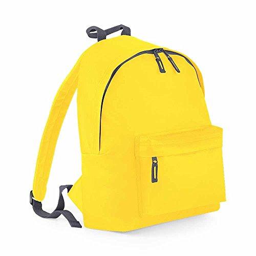 Bag base - Sac à dos école loisirs - BG125 - jaune - 18L - mixte homme / femme