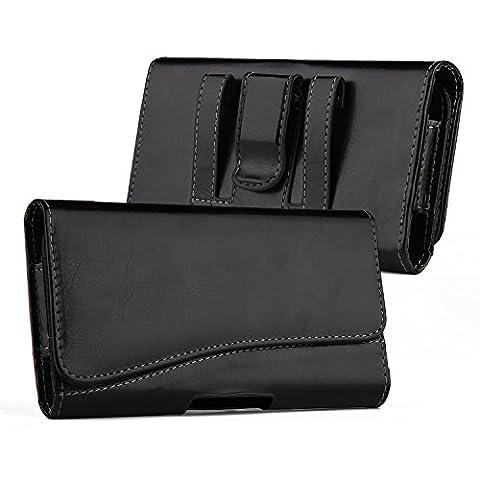 iPhone 6 Plus HOSTER Pochette,iNNEXT Premium Étui de transport en cuir horizontal avec clip ceinture pour Apple iPhone 6 Plus - -5.5