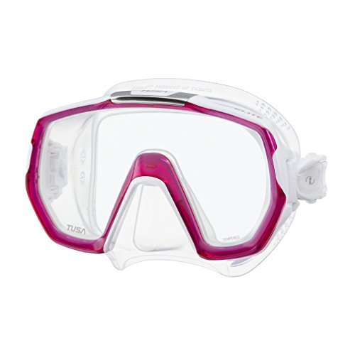TUSA Sport Tusa Freedom Elite - tauchmaske schnorchelmaske erwachsene damen profi - Bougainvillea Rosa