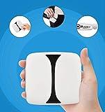 Mini Vidéoprojecteur Portable S660, DLP Soutien WiFi/BT/HDMI/USB avec Haut-Parleur Intégré - Idéal pour Film/Vidéo/Gaming Compatible avec iOS/Android, Pratique pour Déplacement et Voyage (Blanc)...
