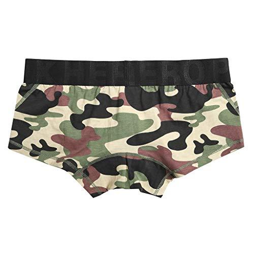 M-2XL Tarnung Boxershorts Herren Underpants Männer Unterhose Unterwäsche Briefs Underwear Panties Unterhosen Retroshorts CICIYONER