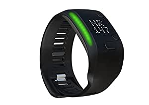 Adidas Fit Smart Fitness and Activity Monitor Wrist Band, Small (Black)