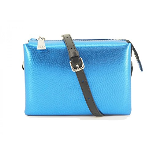 GUM Gianni Chiarini Design - Bolso de asas de Sintético para mujer Azul  turquesa M 58128bc4582