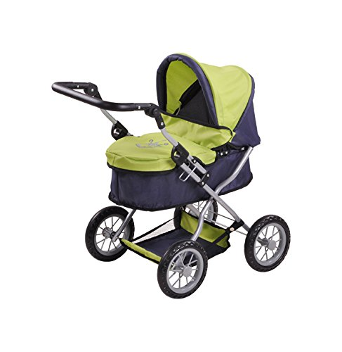 CHIC2000 Puppenwagen »Emotion 3in1, grau-pink«