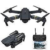 YEARYOWN Drone GPS con cámara 1080P, WiFi FPV RC Quadcopter, GPS Dual, transmisión en Vivo, Motor sin escobillas, sígueme, Modo de Control de altitud, sin Cabeza para cámara de acción