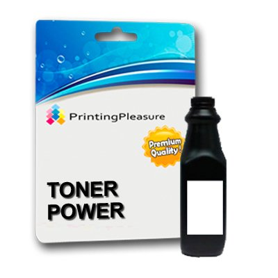 Printing Pleasure Black Refill Toner Powder 150g for Brother, HP Laserjet, Samsung, Oki, Dell Printers