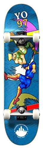 Yocellow Retro Series Skateboard/Skateboard-Brett/Deck, Komplettset, Bralwer
