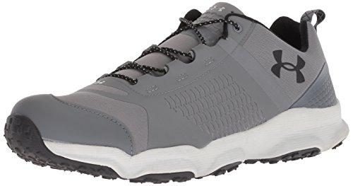 Under Armour Herren Speedfit Low Wandern Stiefel, Grau - Graphite/Aluminum/Black - Größe: 43 EU F (Low Hiker Schuhe)