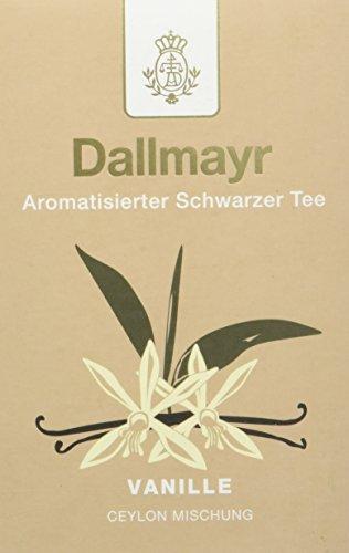 Dallmayr Aromatisierter Schwarztee - Vanille, 8er Pack (8 x 100 g )