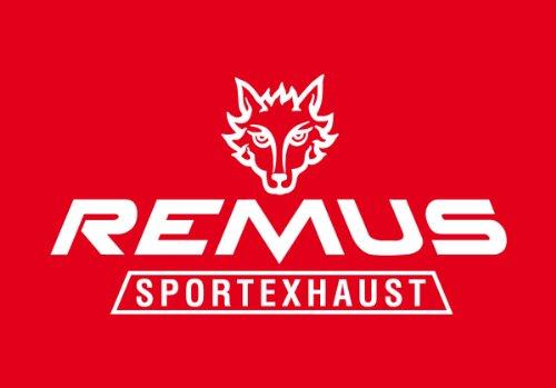 Remus 796097 0548 Seat Ibiza Cupra Typ 6K, Mod. 1997=>, Sportschalldämpfer mit 2 Endrohren 74 x 65 mm schräg