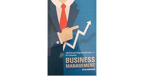 Buy Business Management CBCSS B Com Programme Semester - II
