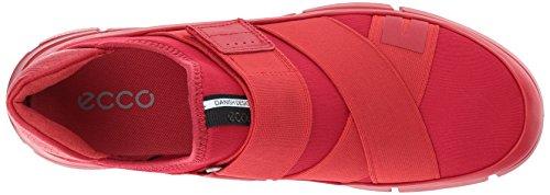 Ecco Damen Intrinsic 1 Sneaker Rot (Tomato/Tomato)