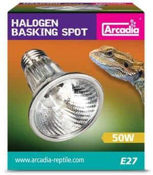 Arcadia ES SHA50E27 Halogen Basking Spot, 50 Watt 1