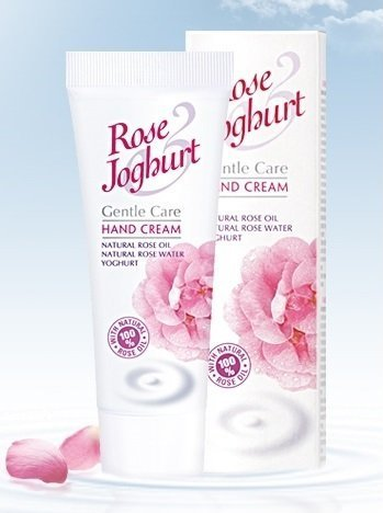 Natural Rose Yoghurt Hand Cream 2.5 Oz/ 75 ml â˜... Nourishes, Hydrates, Smoothes and Regenerates Skin â˜... Natural Rose Oil, Natural Rose Water, Yoghurt, Argan Oil, Squalene and Lactil by Rose Joghurt