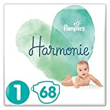 Pampers Harmonie Taille1, 68Couches, 2-5kg
