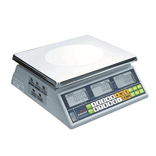 Lacor - 61730 - Bascula Electronica Con Base Cuadrada