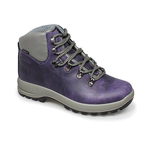 Grisport Lady Hurricane, Stivali da Escursionismo Alti Donna Viola (Purple)