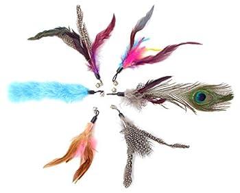 Canne à pêche pour chat de Diawell - Avec clochette - Jouet