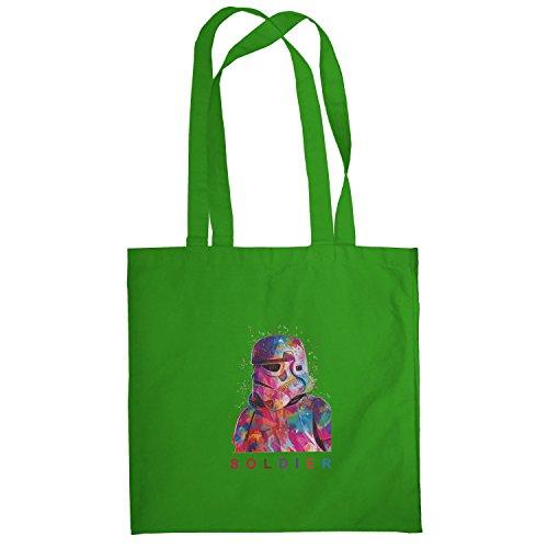 Texlab–Soldier–sacchetto di stoffa Verde