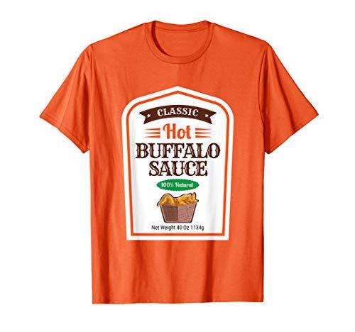 Original Kostüm Für Paare - Hot Buffalo Familie Sauce Kostüm Original