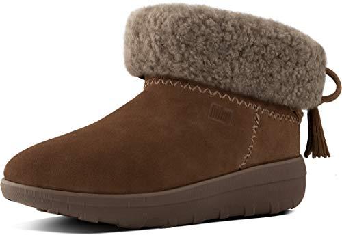 Fitflop Mukluk Boots (FitFlop Damen Mukluk Shorty Ii Boots with Tassels Kurzschaft Stiefel, Braun (Chestnut 047), 37 EU)