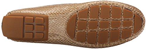 Lauren Ralph Lauren Carys Slip-on Mocassins Toast Bicolor Snakeskin