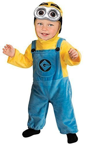 Kinder Baby - Minion Einteiler (Kleinkind Kostüm Minion)