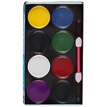 Bobury Cara pintura del cuerpo pintura al óleo arte maquillaje conjunto payaso cara maquillaje herramientas fiesta de Halloween