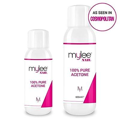 Mylee 100% Pure Acetone Superior Quality Nail Polish Remover UV/LED GEL Soak Off