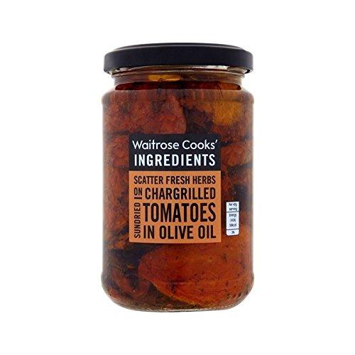 Les Ingrédients De Cuisiniers Rôtir Les Tomates Séchées Au Soleil Dans Waitrose D'Huile 280G - Paquet de 2