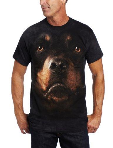 The Mountain T-Shirt Rottweiler Face Tee XL (Erwachsene Preis T-shirt)