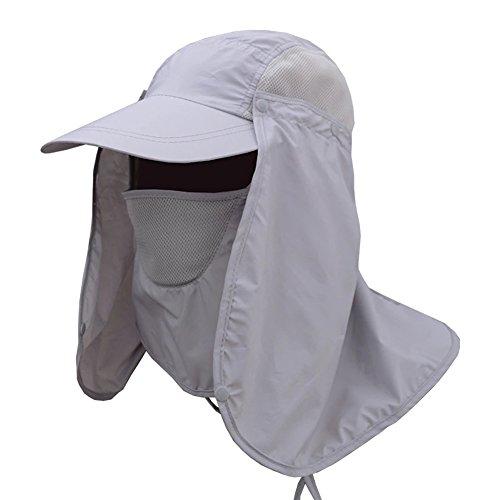 JITTY Sombrero Solar De Protector Solar De 360...