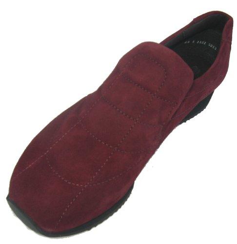 Ara-12-42602 Gil donna Sneaker pelle ochsblut ( bordeaux)