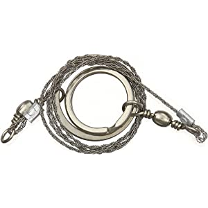 41Le9EWVFvL. SS300  - BCB CM020 Commando Wire Saw Original With Metal Rings