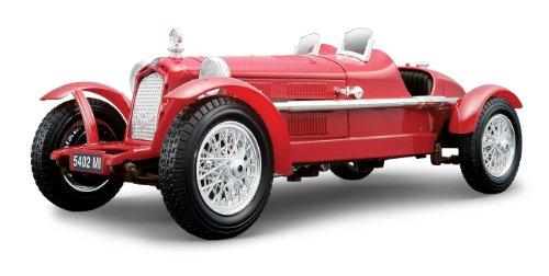 Preisvergleich Produktbild BBurago 18-12065 - Gold Collezione 1:18 Alfa R. 8C 2300 Monza (1931)